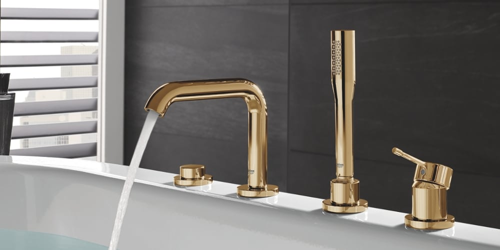 Grohe Essence Wannenarmaturen cool sunrise
