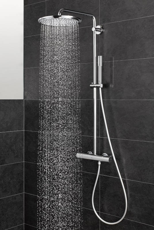 Grohe wall-mounted shower systems