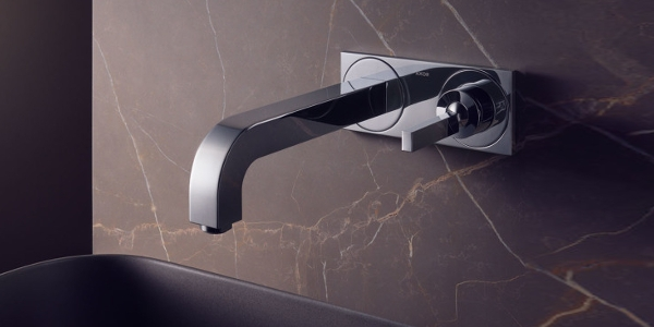 Axor Citterio washbasin faucet wall-mounted